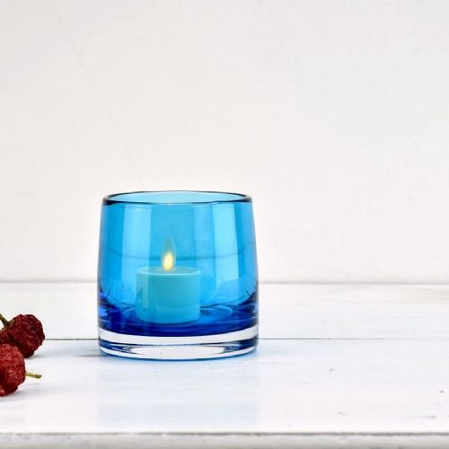 Tea Light Holder Turquoise